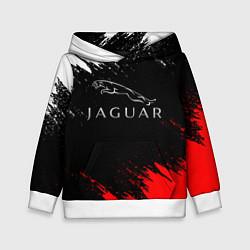 Толстовка-худи детская Jaguar цвета 3D-белый — фото 1