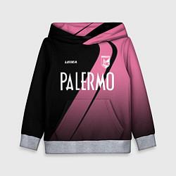 Толстовка-худи детская PALERMO FC цвета 3D-меланж — фото 1