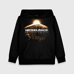 Толстовка-худи детская Nickelback: No fixed address цвета 3D-черный — фото 1