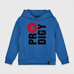 Толстовка оверсайз детская Prodigy Star цвета синий — фото 1
