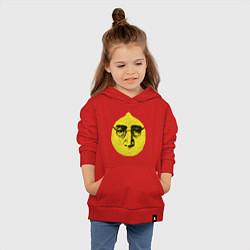 Толстовка детская хлопковая John Lemon цвета красный — фото 2