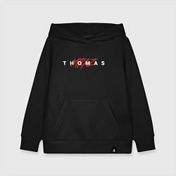 Толстовка детская хлопковая Thomas Mraz цвета черный — фото 1