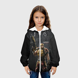 Куртка с капюшоном детская Quake цвета 3D-белый — фото 2