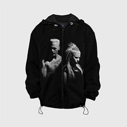 Куртка с капюшоном детская Die Antwoord: Black цвета 3D-черный — фото 1