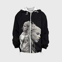 Куртка 3D с капюшоном для ребенка Die Antwoord: Black Girl - фото 1