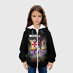 Куртка 3D с капюшоном для ребенка Messi FCB - фото 2