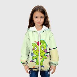 Куртка 3D с капюшоном для ребенка HTF: Nutty Sweet - фото 2