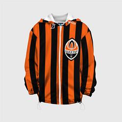 Куртка с капюшоном детская ФК Шахтер Донецк цвета 3D-белый — фото 1