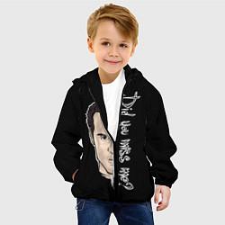 Детская 3D-куртка с капюшоном с принтом Did you miss me?, цвет: 3D-черный, артикул: 10114228105458 — фото 2