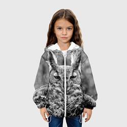 Куртка 3D с капюшоном для ребенка Ночной филин - фото 2
