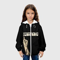 Куртка 3D с капюшоном для ребенка Scorpions Rock - фото 2