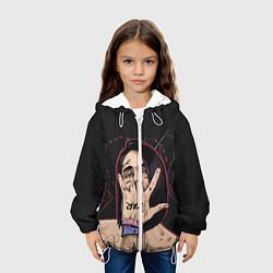 Куртка с капюшоном детская Face Star цвета 3D-белый — фото 2