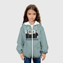 Детская 3D-куртка с капюшоном с принтом The Cranberries, цвет: 3D-белый, артикул: 10144289905458 — фото 2