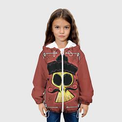 Куртка с капюшоном детская Dia de los Muertos цвета 3D-белый — фото 2