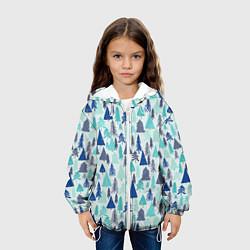 Куртка 3D с капюшоном для ребенка Зимний лес - фото 2