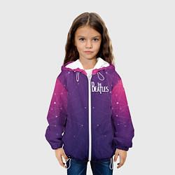 Куртка 3D с капюшоном для ребенка The Beatles: Neon Style - фото 2