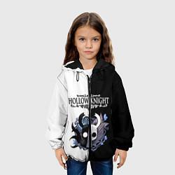 Куртка 3D с капюшоном для ребенка Hollow Knight Black & White - фото 2
