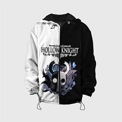 Куртка с капюшоном детская Hollow Knight Black & White цвета 3D-черный — фото 1