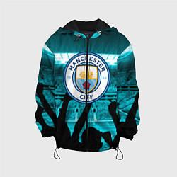 Куртка с капюшоном детская Manchester City цвета 3D-черный — фото 1
