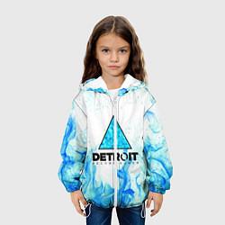 Куртка с капюшоном детская DETROIT BECOME HUMAN цвета 3D-белый — фото 2