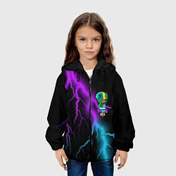 Куртка 3D с капюшоном для ребенка Brawl Stars LEON - фото 2