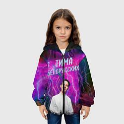 Детская 3D-куртка с капюшоном с принтом Тима Белорусских, цвет: 3D-черный, артикул: 10202389105458 — фото 2