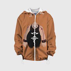 Куртка 3D с капюшоном для ребенка Стальной алхимик - фото 1