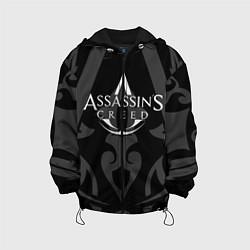 Куртка с капюшоном детская Assassin's Creed цвета 3D-черный — фото 1