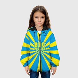 Куртка 3D с капюшоном для ребенка ВВС России - фото 2