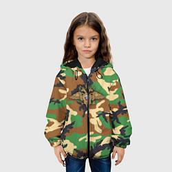 Куртка 3D с капюшоном для ребенка Камуфляж с гербом МВД - фото 2
