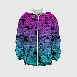 Детская 3D-куртка с капюшоном с принтом Imagine Dragons, цвет: 3D-белый, артикул: 10208267505458 — фото 1
