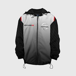 Детская 3D-куртка с капюшоном с принтом NISSAN NISMO, цвет: 3D-черный, артикул: 10208593505458 — фото 1