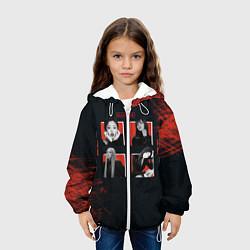 Детская 3D-куртка с капюшоном с принтом BLACKPINK, цвет: 3D-белый, артикул: 10267085305458 — фото 2
