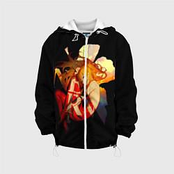 Куртка 3D с капюшоном для ребенка Аска Евангелион Nerv - фото 1