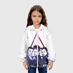 Куртка с капюшоном детская 30 seconds to mars цвета 3D-белый — фото 2