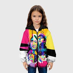 Куртка 3D с капюшоном для ребенка The Beatles: Poly-art - фото 2