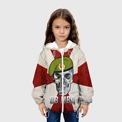 Куртка 3D с капюшоном для ребенка Череп: ВВ МВД - фото 2