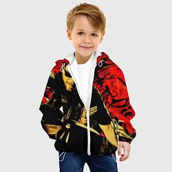 Детская 3D-куртка с капюшоном с принтом Redwood original, цвет: 3D-белый, артикул: 10078855705458 — фото 2