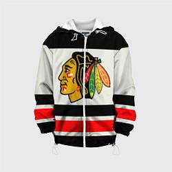 Куртка 3D с капюшоном для ребенка Chicago Blackhawks - фото 1