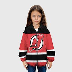 Куртка 3D с капюшоном для ребенка New Jersey Devils - фото 2