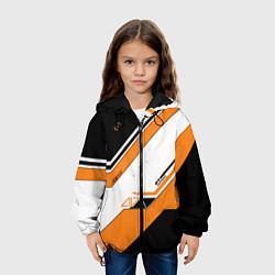 Куртка с капюшоном детская CS:GO Asiimov цвета 3D-черный — фото 2