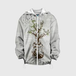 Куртка 3D с капюшоном для ребенка Three Days Grace: Tree - фото 1