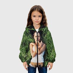 Куртка с капюшоном детская Анджелина Джоли цвета 3D-черный — фото 2