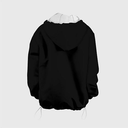Детская куртка Девушка в шляпе / 3D-Белый – фото 2
