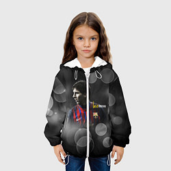 Куртка 3D с капюшоном для ребенка Leo Messi - фото 2