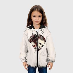 Куртка с капюшоном детская Fight Club: Friends цвета 3D-черный — фото 2