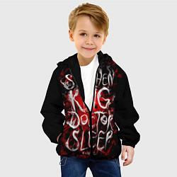 Куртка с капюшоном детская Doctor Sleep цвета 3D-черный — фото 2