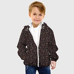 Детская 3D-куртка с капюшоном с принтом Унесённые призраками, цвет: 3D-белый, артикул: 10096214905458 — фото 2