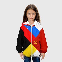 Детская 3D-куртка с капюшоном с принтом Вечная Россия, цвет: 3D-белый, артикул: 10096720705458 — фото 2