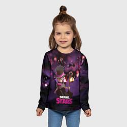 Лонгслив детский Brawl stars Mortis Мортис цвета 3D-принт — фото 2